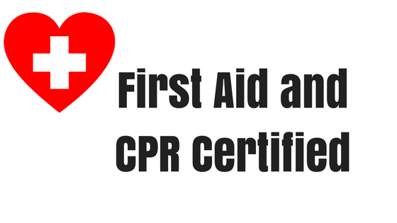 CPR and First Aid Announcement!